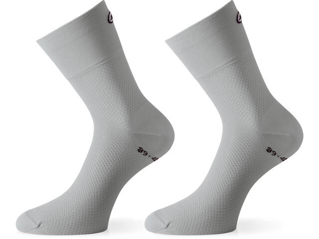 assos GT Socks silver fever